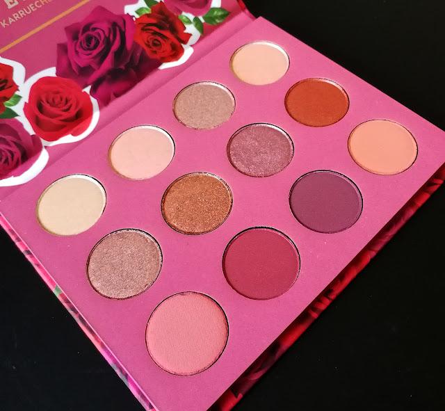 Revue She Palette Fem Rosa Colourpop x Karrueche