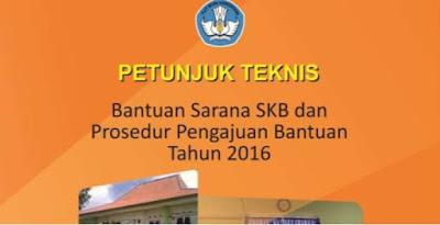 Juknis Bantuan Sarana SKB 2016