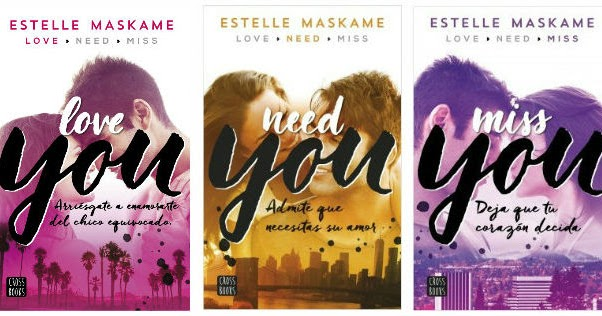 Resultado de imagen de trilogía love you stelle maskame
