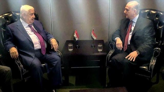"""""""Siria e Irak, en una misma trinchera frente a los retos comunes"""""""