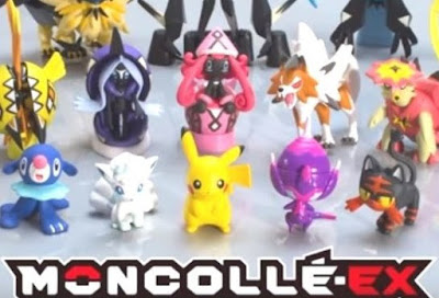 Poipole figure Takara Tomy Monster Collection MONCOLLE EX EMC_36