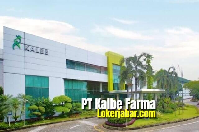 Lowongan Kerja PT. Kalbe Farma Terbaru