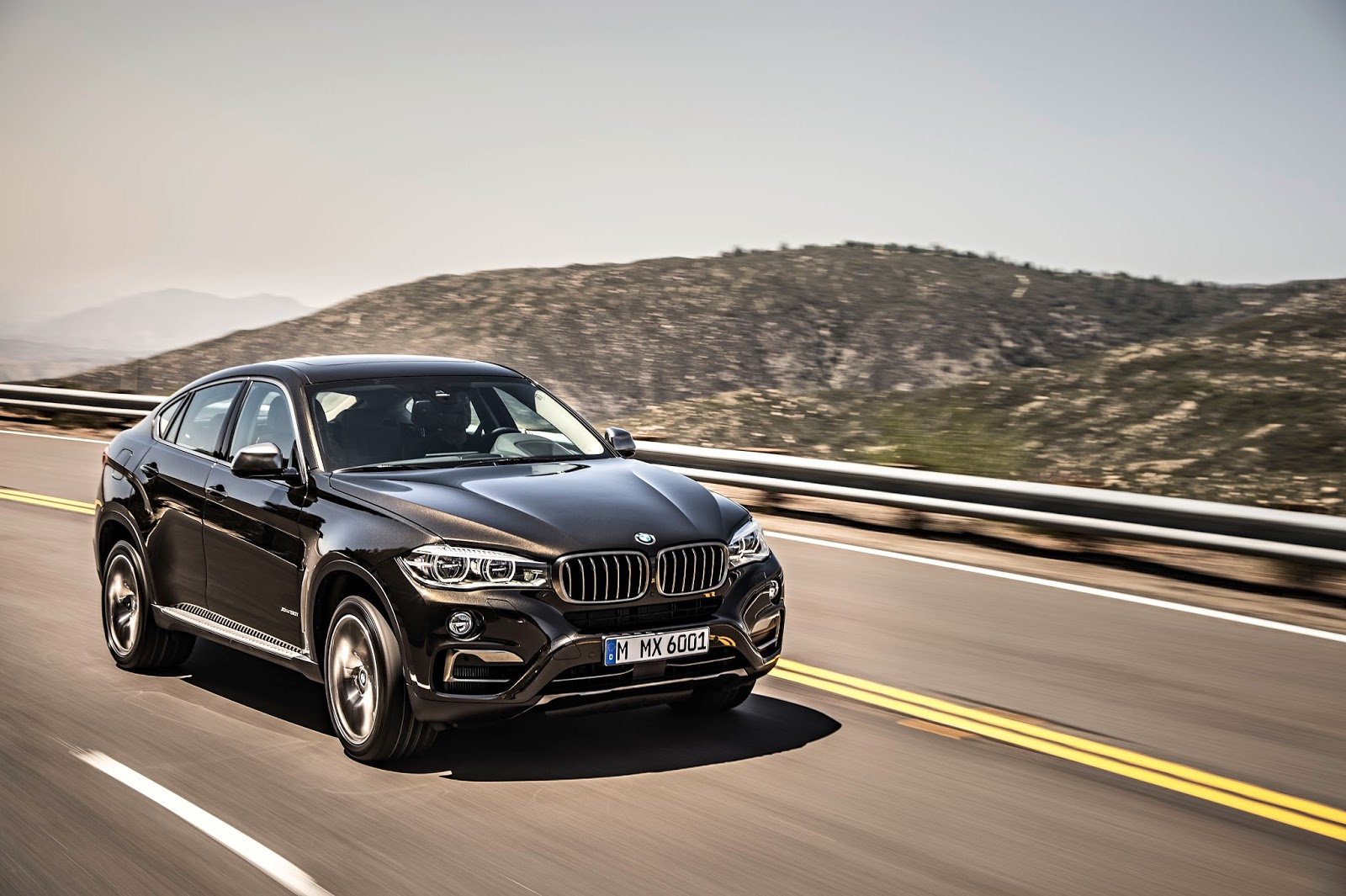 The New Bmw X6 And X6 M50d