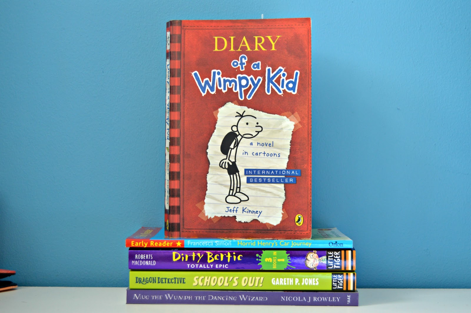 Diary of the wimpy kid book