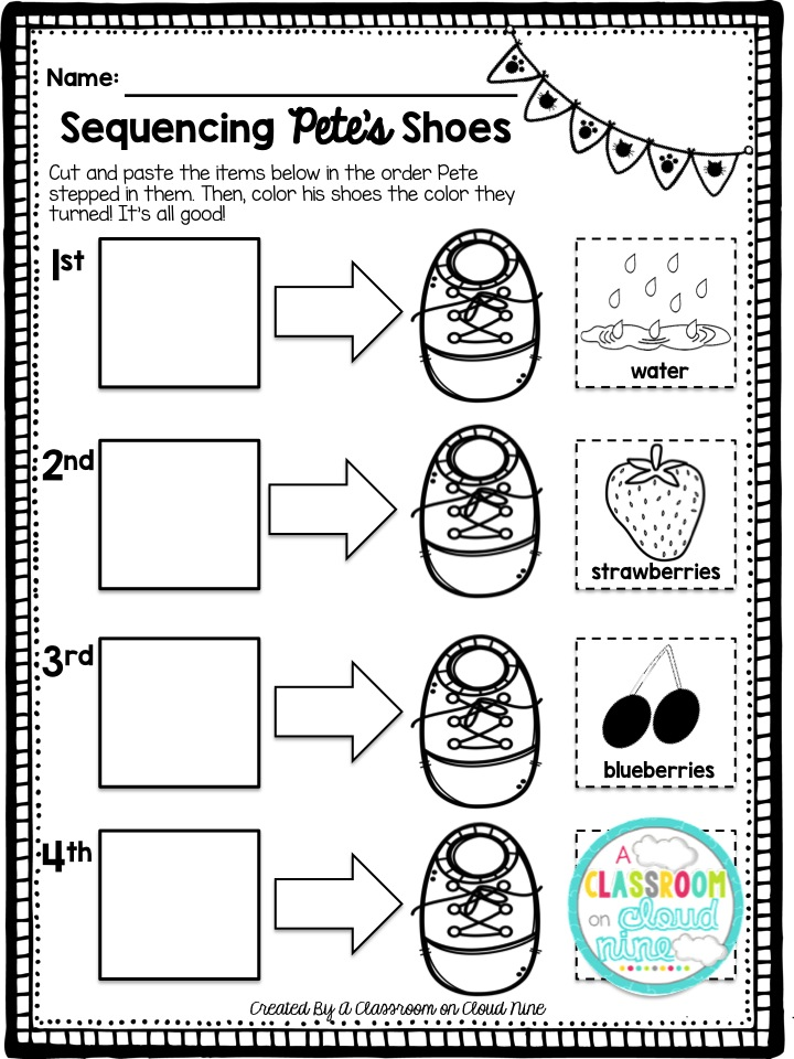 Image Result For Pete Cat Coloring Page Its Show Time