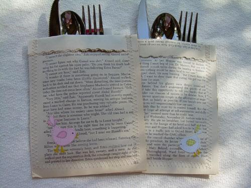 Cat 'n Cart Crafts: Cutlery Holders