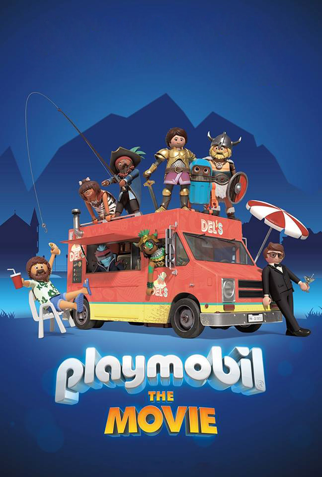 Playmobil: The Movie [2019] [DVD R1] [NTSC] [Latino]
