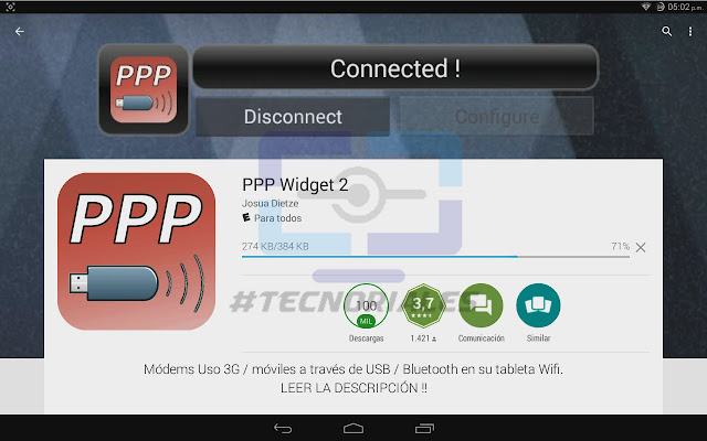 PPP Widget en Google Play