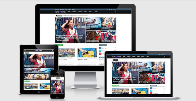 Newspaper 9 Responsive Premium Blogger Template Free Download