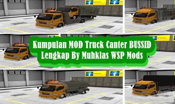 Kumpulan MOD Truck Canter BUSSID Lengkap