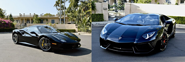 777 Exotics Car Rental Los Angeles