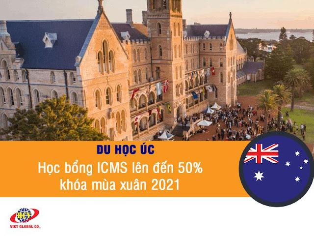 Du học Úc: Học bổng ICMS lên đến 50% mùa xuân 2021 – Học tại Sydney