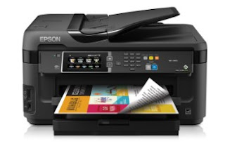 Epson WorkForce WF-7610 Driver Printer Download