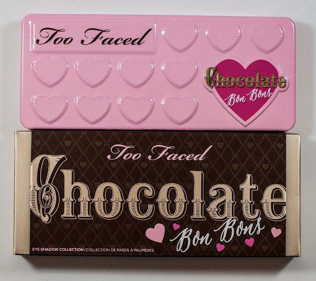 Too Faced Chocolate Bon Bons Eyeshadow Palette front of palette and box.  sc 1 st  WARPAINT and Unicorns : chocolate box palette - Aboutintivar.Com