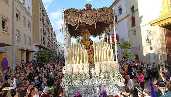 Horario e Itinerario Traslado a la Catedral de Nuestra Señora de la Encarnación. Sevilla 13 de Diciembre del 2019