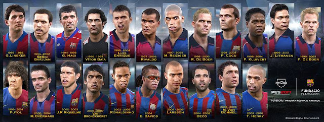 PES 2017 All 24 My Club Legends – Faces