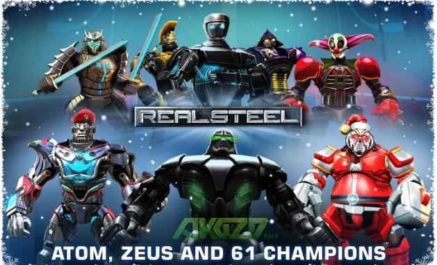 Real Steel HD Mod Apk Terbaru Free Shopping