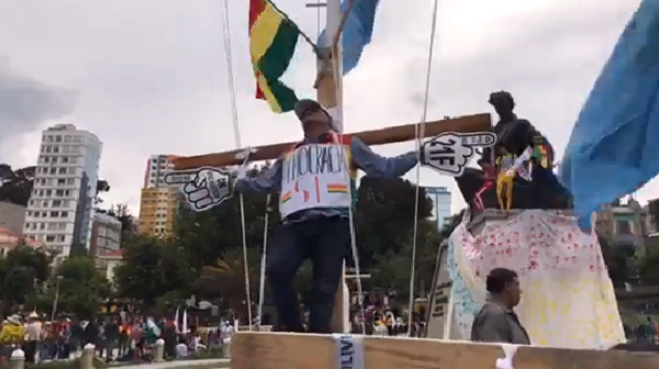 Ciudadanos masificaron sus medidas de protesta contra el TSE / ENCONTRADOS