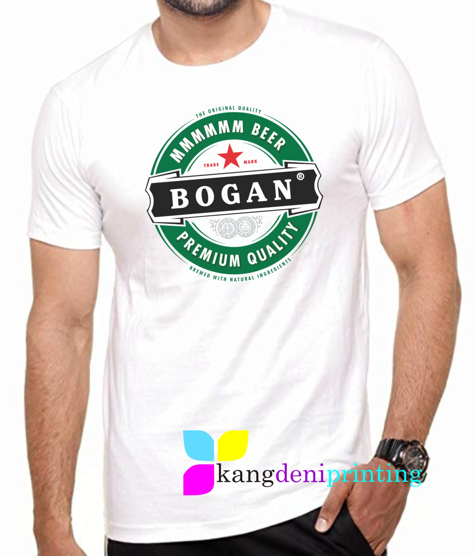 Bogan T-Shirt Bintang Beer Kuta Bali