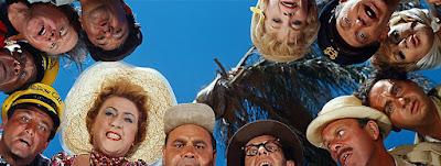 AUTOMOVILISTAS: El mundo está loco, loco, loco (1963) It's a Mad, Mad, Mad, Mad World