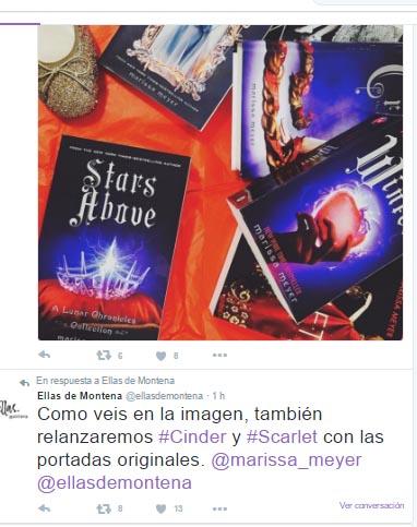 tweet montena reedicion cronicas lunares