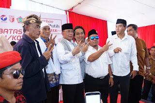 <b>Ahyar-Mori Siap Ciptakan Pemerataan Pembangunan di KLU</b>