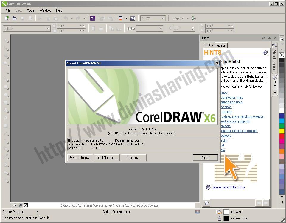 corel draw x6 portable google drive