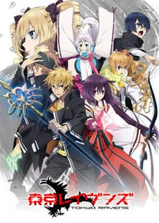 Tokyo Ravens - Anime supernatural terbaik Fall 2013