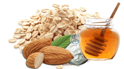 Almonds, Lemon, and Oats Face Pack for skin fairness