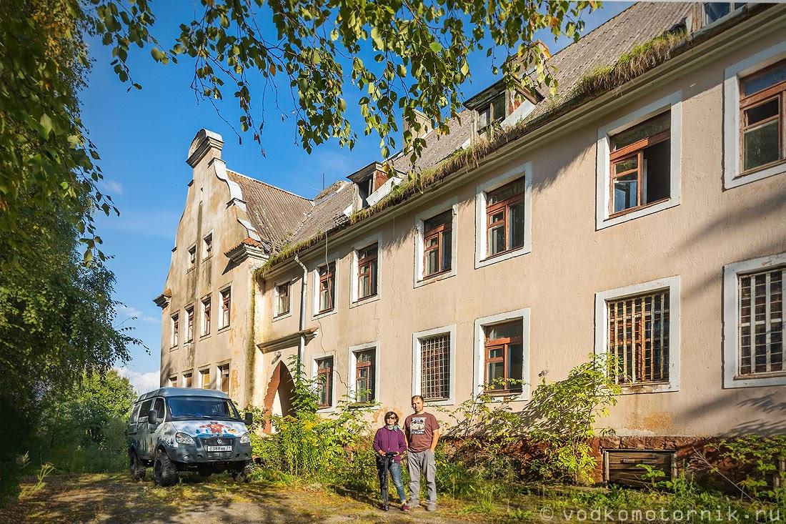 Здание бывшей школы в Богатово