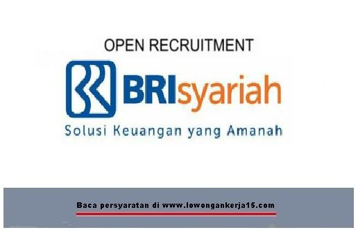 penerimaan pegawai Bank BRI Syariah