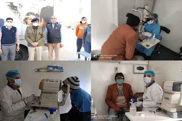 faridabad-police-line-free-eye-check-up-camp-news