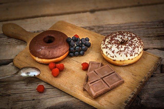Süßigkeiten gute Vorsätze