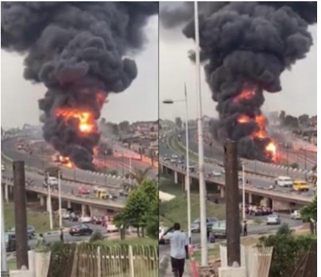 11 killed in the Lagos tanker blast