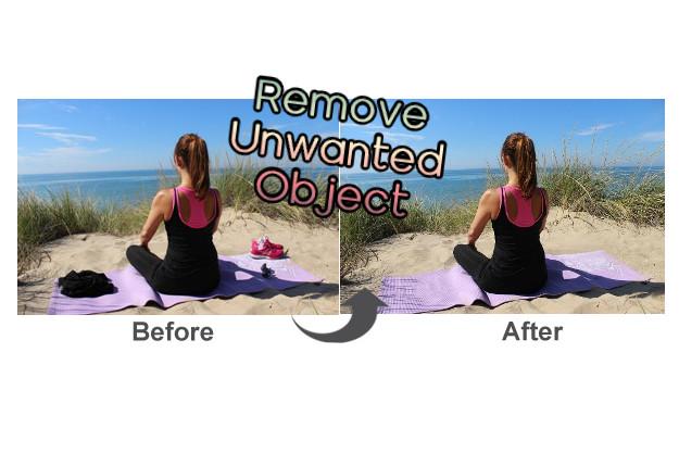 Remove Unwanted Object - Δωρεάν εφαρμογή για εύκολη αφαίρεση αντικειμένων από φωτογραφίες
