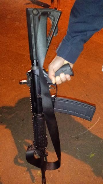 Polícia Rodoviária Federal Posto Ribeira do Pombal apreende fuzis dinamites e outros matérias que seria utilizado em Roubo a carro forte