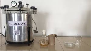 Autoclave is an instrument that operates by creating high temperature under steam pressure