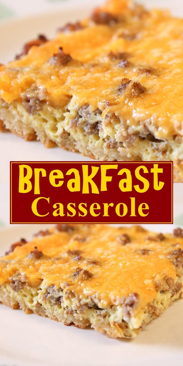 Breakfast Casserole #breakfastideas