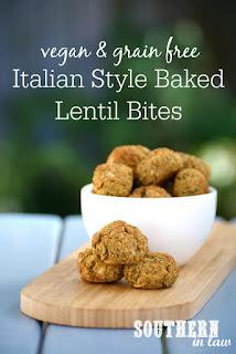 Healthy Italian Baked Lentil Balls Recipe Vegan