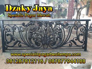 Gambar Balkon Klasik/Balkon Besi Tempa untuk proyek Manado, Sulawesi