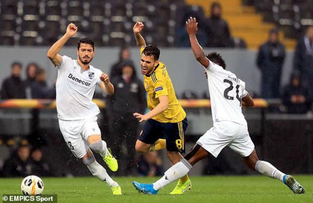 Video Vitoria Guimaraes 1-1 Arsenal: Vô-lê tuyệt đỉnh, kịch tính phút bù giờ