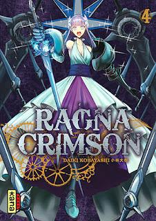 Manga - Ragna Crimson tome 4 aux éditions Kana