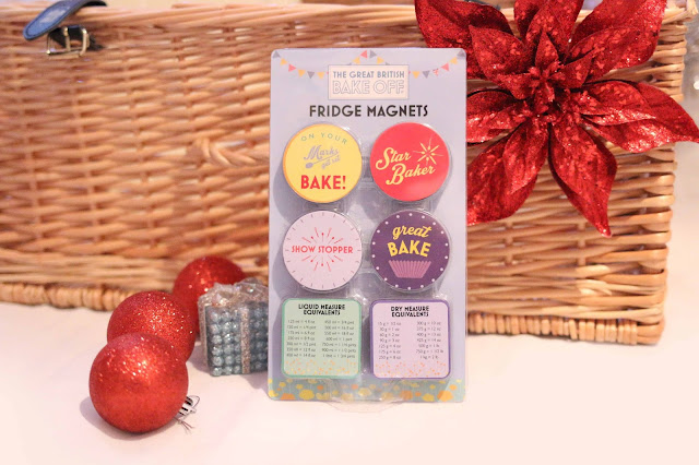 Great British Bake Off fridge magnets - Christmas gift guide for the gbbo lover
