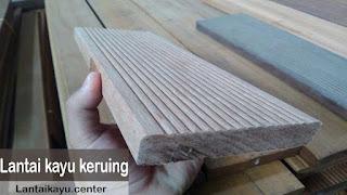 lantai kayu keruing
