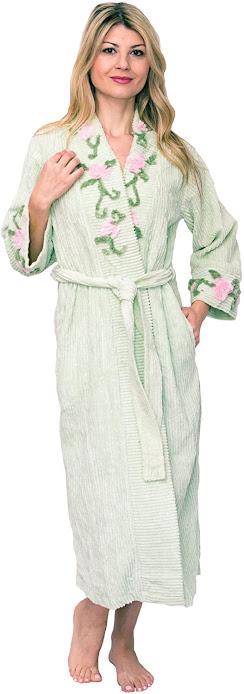 Women's Good Quality Cotton Bath Robes