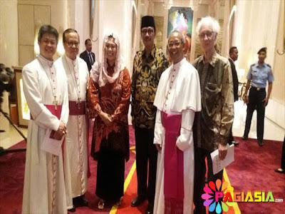 Sebanyak 28 Tokoh Lintas Agama Sedang Menemui Raja Salman Bersama dengan Jokowi