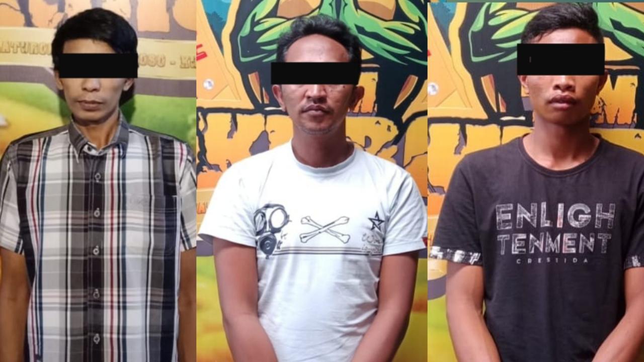 Sehari Polres Lumajang Tangkap 5 Pelaku Narkotika