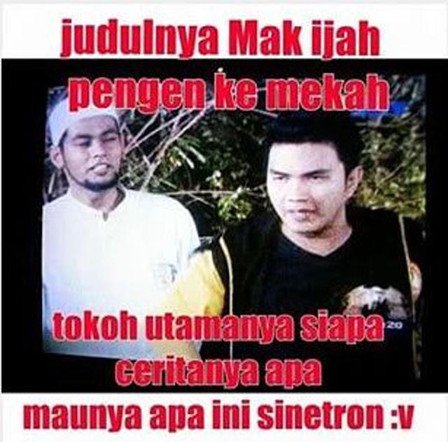 Meme Lucu Sinetron Indonesia