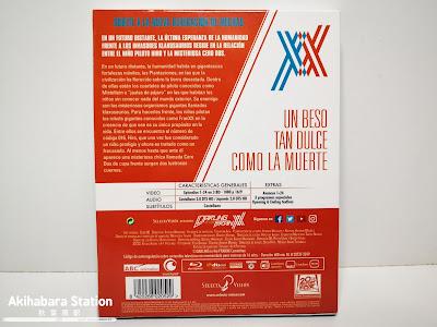 Darling in the FranXX, edición Blu-ray de Selecta Visión.