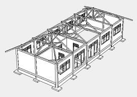 struktur bagunan